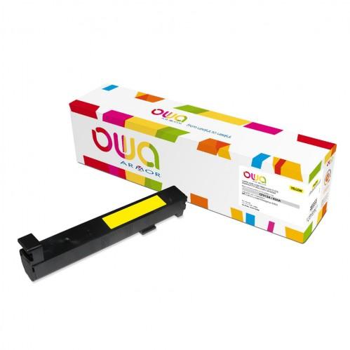 Cartouche Laser OWA remanufacturée compatible HP CF312A - Jaune - 31500p