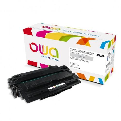 Cartouche Laser OWA remanufacturée compatible HP CF214A - Noir - 10000p