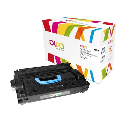 Cartouche Laser OWA remanufacturée compatible HP CF325X - Noir - 40000p