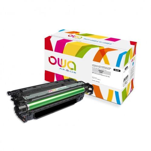 Cartouche Laser OWA remanufacturée compatible HP CE264X - Noir - 17000p
