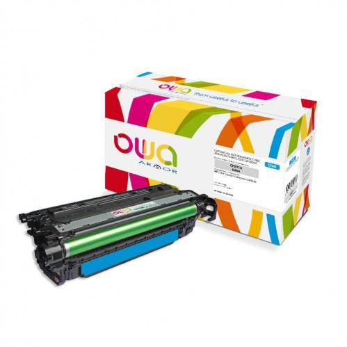 Cartouche Laser OWA remanufacturée compatible HP CF031A - Cyan - 12500p