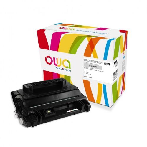 Cartouche Laser OWA remanufacturée compatible HP CF281A - Noir - 10500p