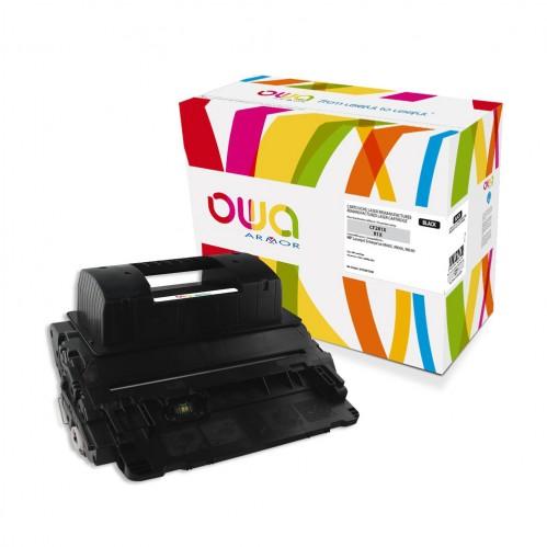 Cartouche Laser OWA remanufacturée compatible HP CF281X - Noir - 25000p