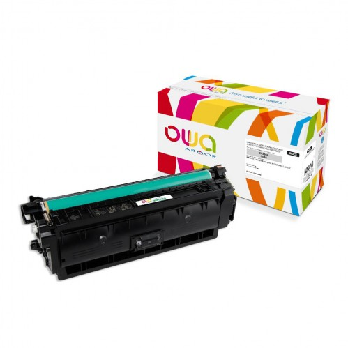Cartouche Laser OWA remanufacturée compatible HP CF360A - Noir - 6000p