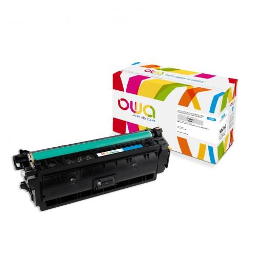 Cartouche Laser OWA remanufacturée compatible HP CF361A - Cyan - 5000p