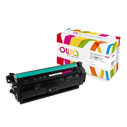 Cartouche Laser OWA remanufacturée compatible HP CF363A - Magenta - 5000p
