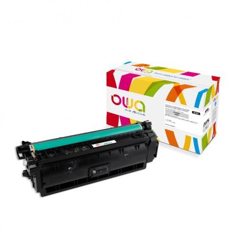 Cartouche Laser OWA remanufacturée compatible HP CF360X - Noir - 12500p