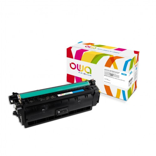 Cartouche Laser OWA remanufacturée compatible HP CF361X - Cyan - 9500p