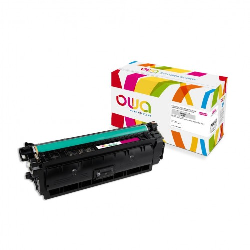 Cartouche Laser OWA remanufacturée compatible HP CF363X - Magenta - 9500p