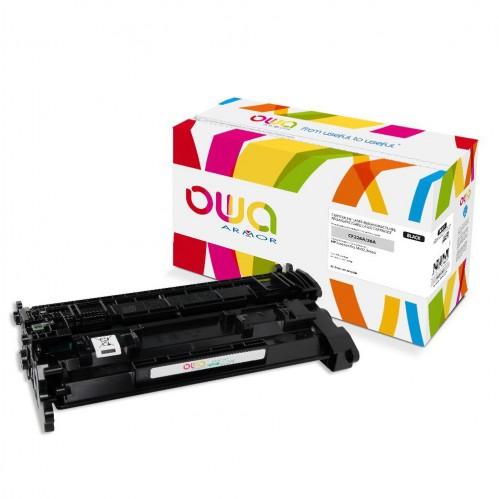 Cartouche Laser OWA remanufacturée compatible HP CF226A - Noir - 3100p
