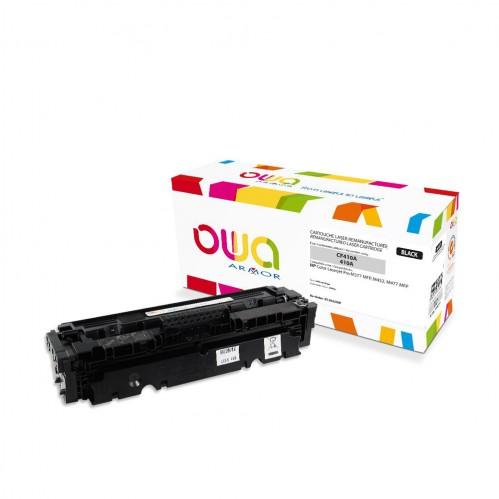 Cartouche Laser OWA remanufacturée compatible HP CF410A - Noir - 2300p