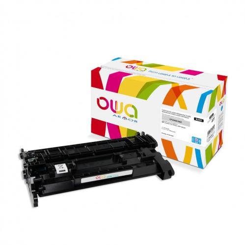 Cartouche Laser OWA remanufacturée compatible HP CF226X - Noir - 12000p
