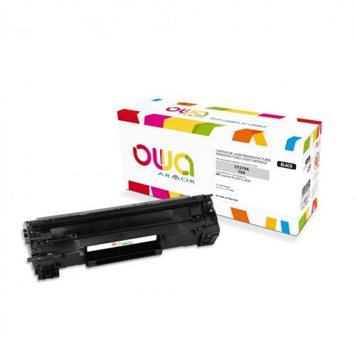 Cartouche Laser OWA remanufacturée compatible HP CF279A - Noir - 1000p