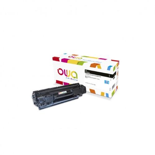 Cartouche Laser OWA remanufacturée compatible HP CF283A - Noir - 3000p