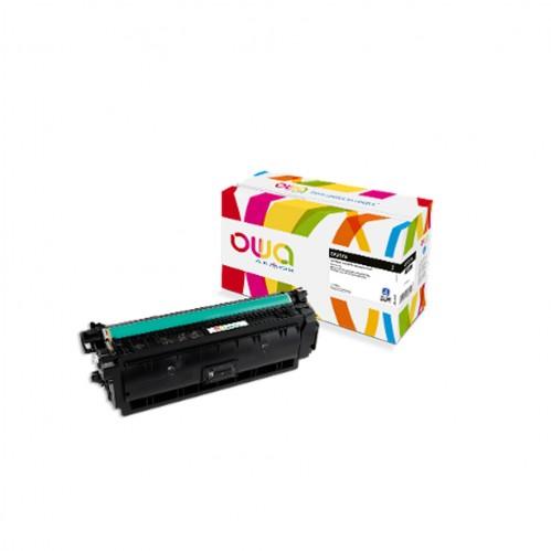 Cartouche Laser OWA remanufacturée compatible HP CF237A - Noir - 11000p