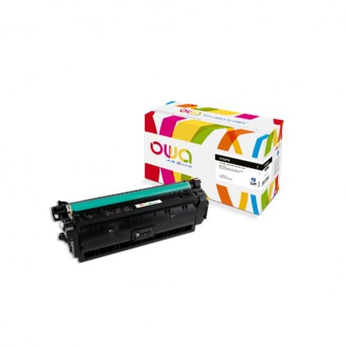 Cartouche Laser OWA remanufacturée compatible HP CF237X - Noir - 25000p