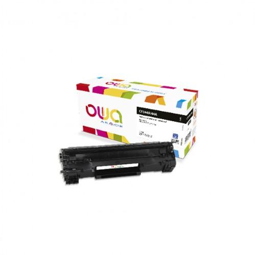 Cartouche Laser OWA remanufacturée compatible HP CF244A - Noir - 1000p