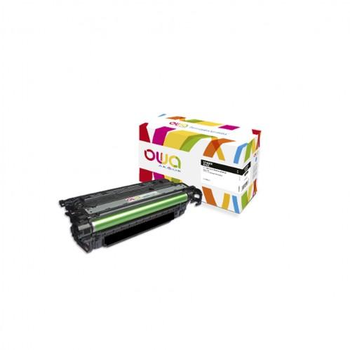 Cartouche Laser OWA remanufacturée compatible HP CF460X - Noir - 27000p