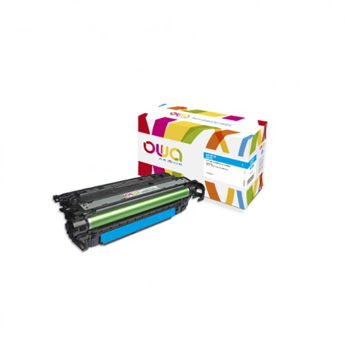 Cartouche Laser OWA remanufacturée compatible HP CF471X - Cyan - 23000p
