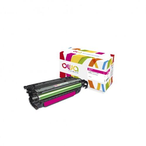 Cartouche Laser OWA remanufacturée compatible HP CF473X - Magenta - 23000p