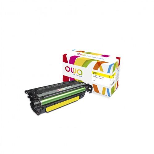 Cartouche Laser OWA remanufacturée compatible HP CF472X - Jaune - 23000p