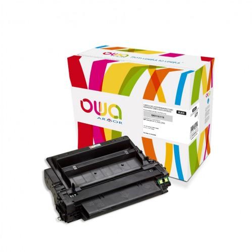 Cartouche Laser OWA remanufacturée compatible HP Q6511X - Noir - 12000p