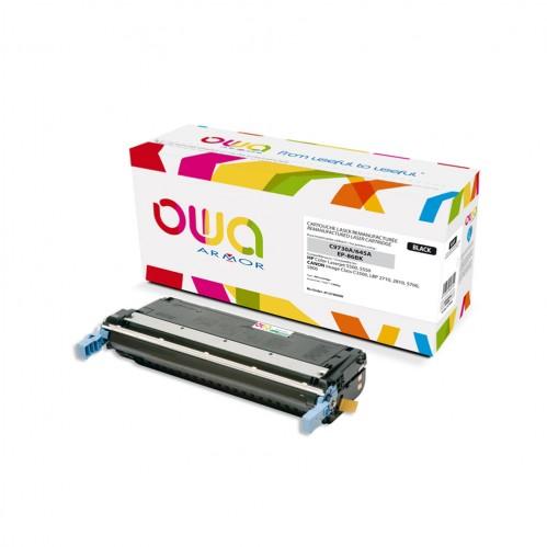 Cartouche Laser OWA remanufacturée compatible HP C9730A - Noir - 13000p