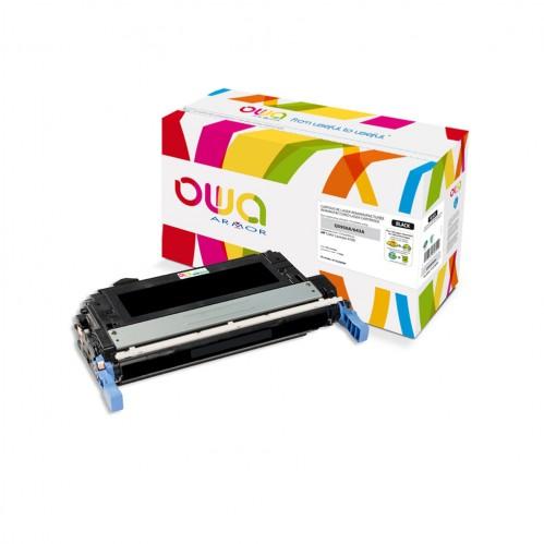 Cartouche Laser OWA remanufacturée compatible HP Q5950A - Noir - 11000p