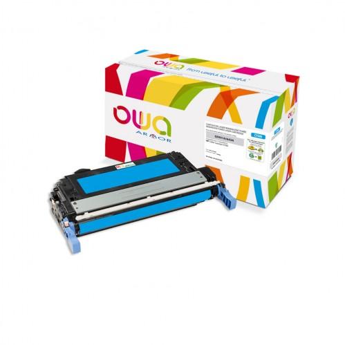 Cartouche Laser OWA remanufacturée compatible HP Q5951A - Cyan - 10000p