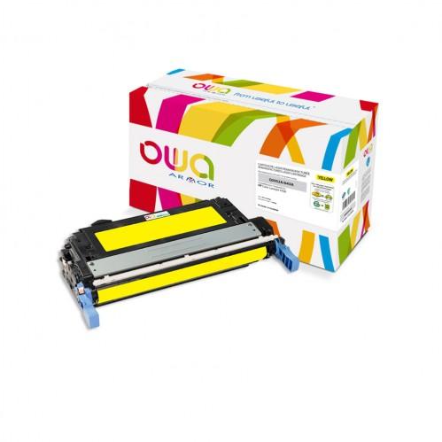 Cartouche Laser OWA remanufacturée compatible HP Q5952A - Jaune - 10000p