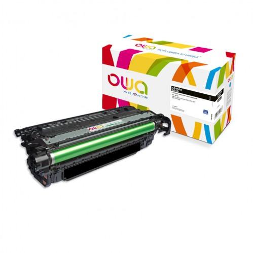 Cartouche Laser OWA remanufacturée compatible HP CF450A - Noir - 12500p