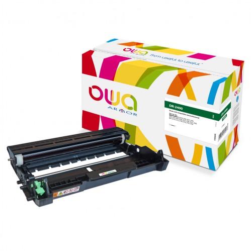 Tambour Laser OWA remanufacturé compatible BROTHER DR-2400 - 12000p