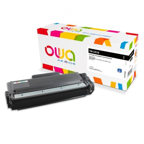 Cartouche Laser OWA remanufacturée compatible BROTHER TN-2410 - Noir - 1200p