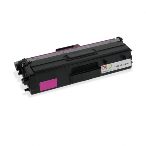 Cartouche Laser OWA remanufacturée compatible BROTHER TN-421M - Magenta - 1800p