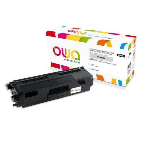 Cartouche Laser OWA remanufacturée compatible BROTHER TN-900BK - Noir - 6000p