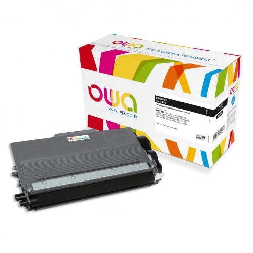 Cartouche Laser OWA remanufacturée compatible BROTHER TN-3430 - Noir - 3000p